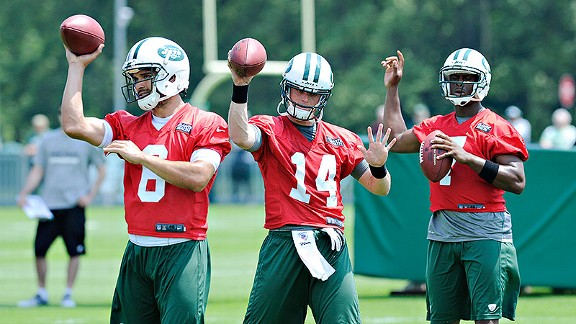 Jets QBs