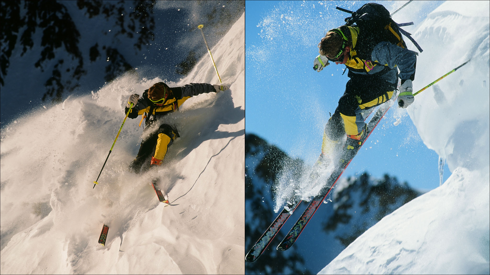 Scot Schmidt was the poster boy of extreme skiing in the '80s and '90s.