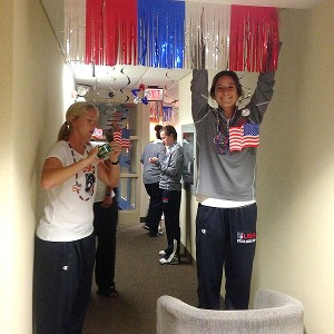 US Womens Lacrosse Team