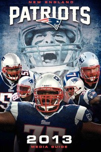 Patriots media guide cover