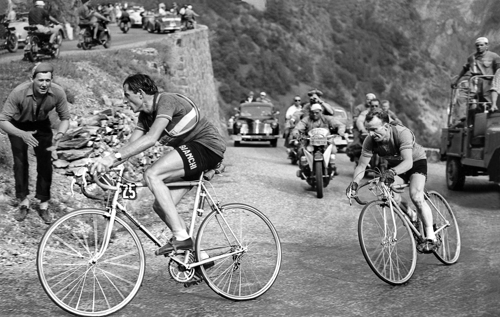 Fausto Coppi and Jean Robic - Tour de France: The Mountain