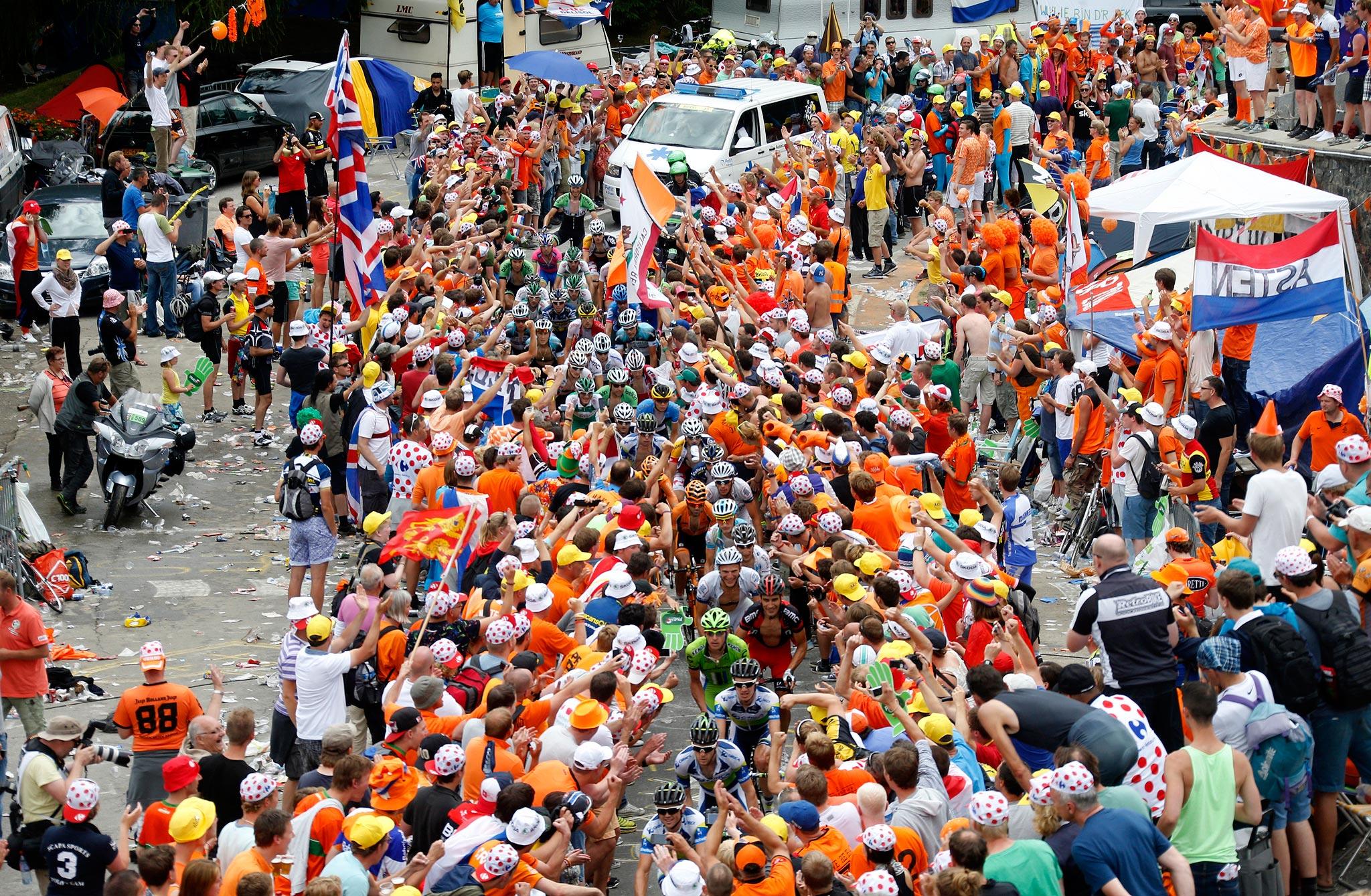 L'Alpe d'Huez fans
