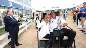 Phil Mickelson and Amy Mickelson