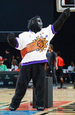 Suns Mascot