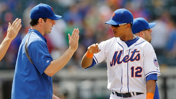 Matt Harvey, Juan Lagares