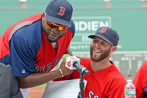 Dustin Pedroia, David Ortiz