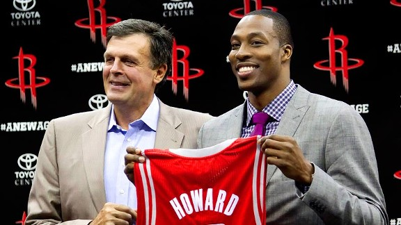 NBA: Will things be different for Dwight Howard in Houston?
