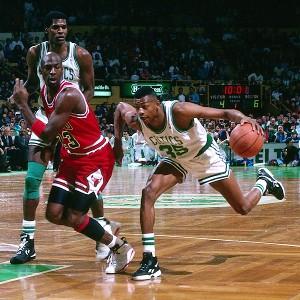 Michael Jordan, Reggie Lewis