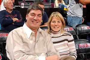 Bill and Chris Laimbeer