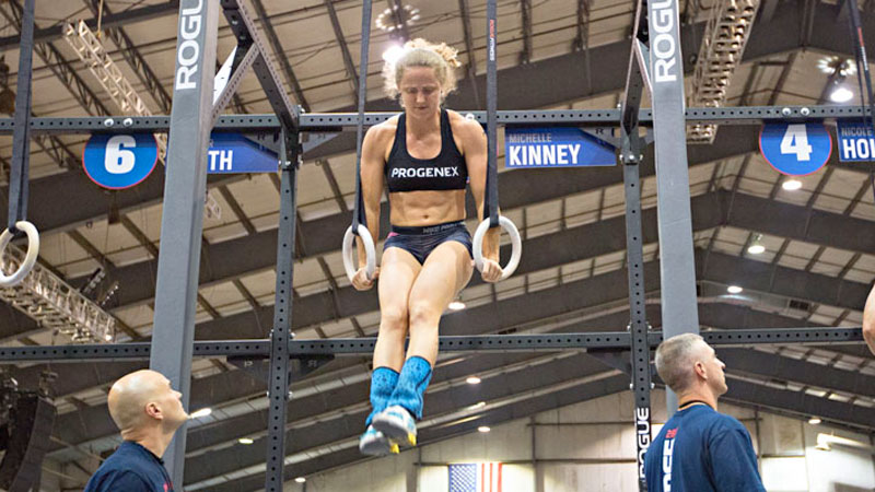 Former softball, track and football player Michelle Kinney still gets goosebumps when she thinks back to her first CrossFit Games.