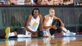 Sylvia Fowles and Elena Delle Donne