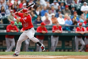 Mike Trout Batting 2014     Enlarge Mike Trout