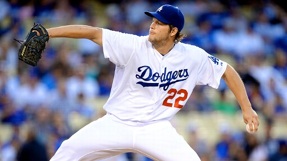 Clayton Kershaw of the Los Angeles Dodgers