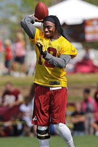 Robert Griffin III Report: Better mechanics