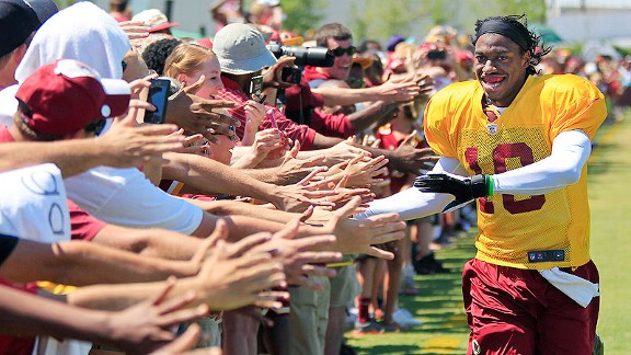 Fantasy Football 2013 - Robert Griffin III among undervalued QBs ...