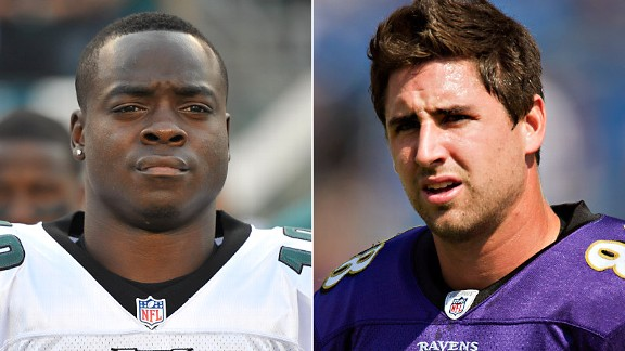 Jeremy Maclin and Dennis Pitta