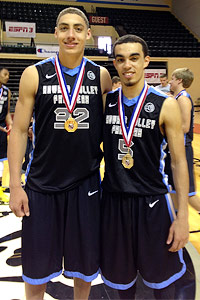 Reid Travis, Tyus Jones