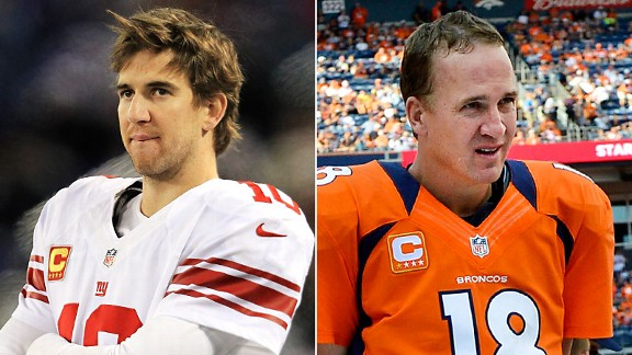 Eli Manning and Peyton Manning