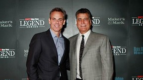 Colin Cowherd and Keith Hernandez