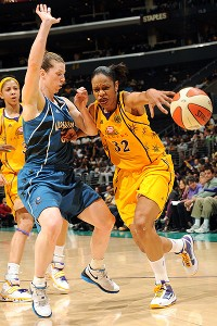 Tina Thompson and Katie Smith