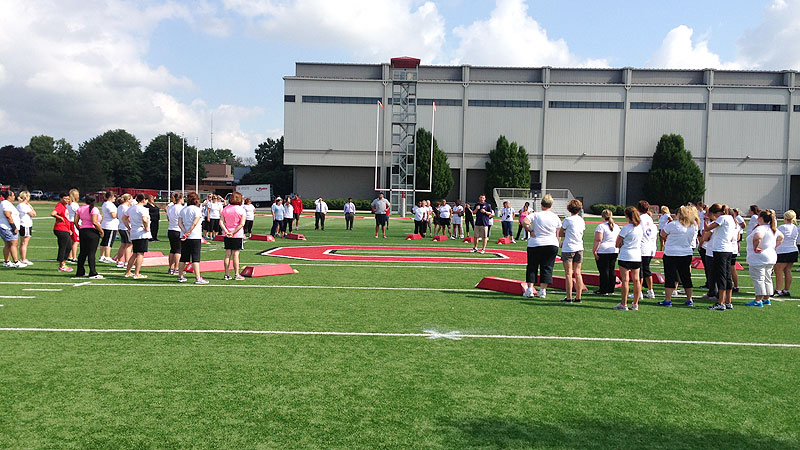 The NFL recently invited mothers to attend a safety clinic at Ohio State University.
