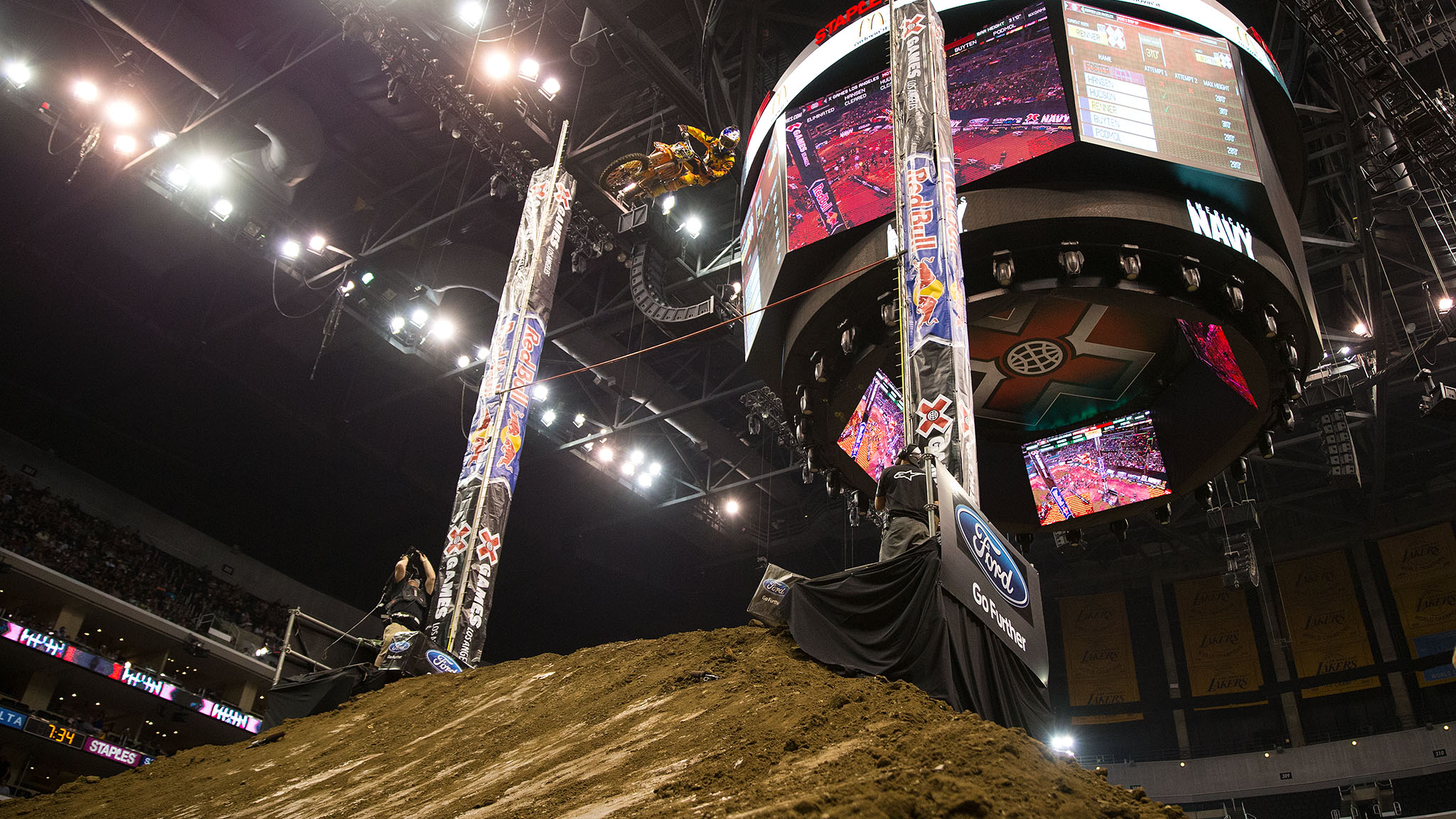 Ronnie Renner now has five Moto X Step Up gold medals -- more than any other athlete.