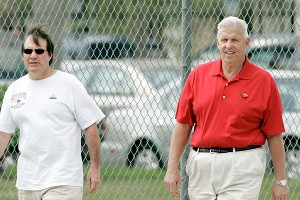 Bill Belichick and Bill Parcells