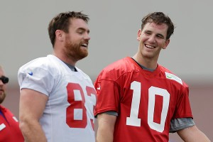 Eli Manning, Brandon Myers