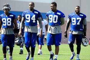 New York Giants defensive linemen