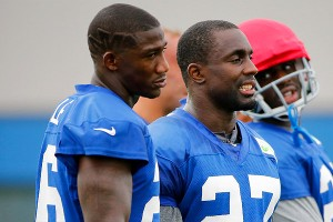 Andrel Rolle and Stevie Brown