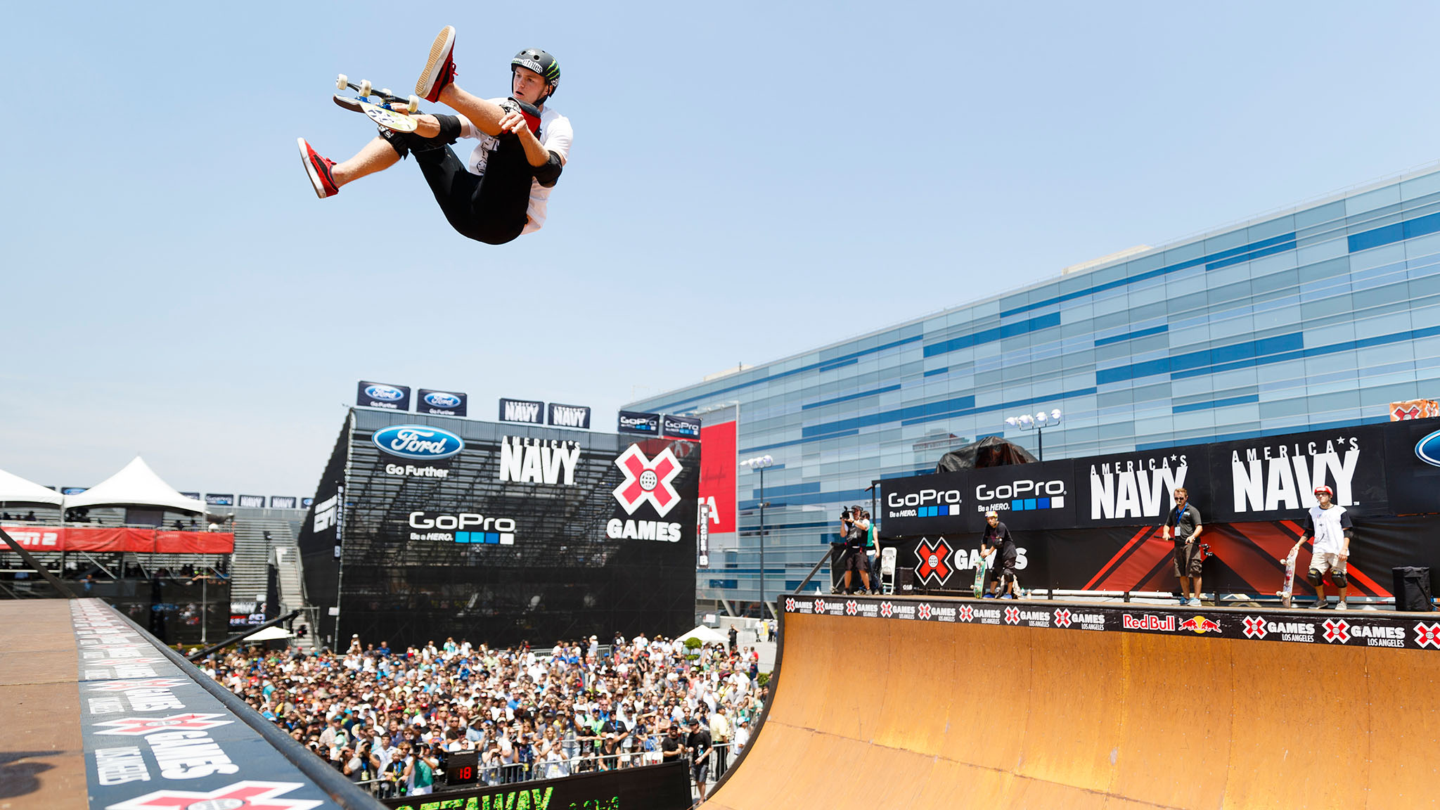British skater Paul-Luc Ronchetti has competed three times in Vert at X Games but hasn't broken onto the podium yet. However, the 20-year-old moved to the U.S. in 2008, when his dad became general manager of LEGOLAND, and now skates every day, so Lasek and PLG better watch their backs.
