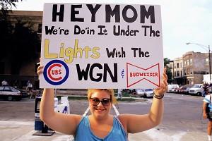 Cubs fan