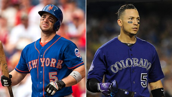 David Wright and Carlos Gonzalez