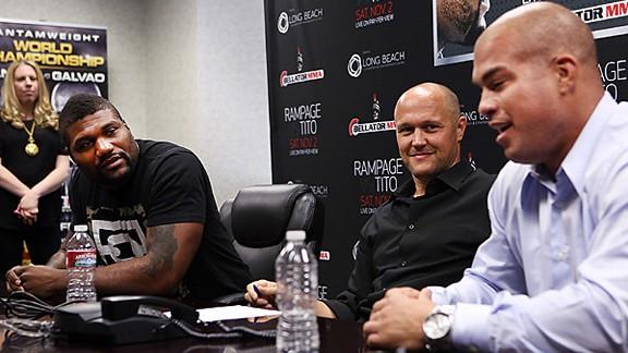 Rampage Jackson and Tito Ortiz