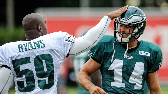 DeMeco Ryans and Riley Cooper
