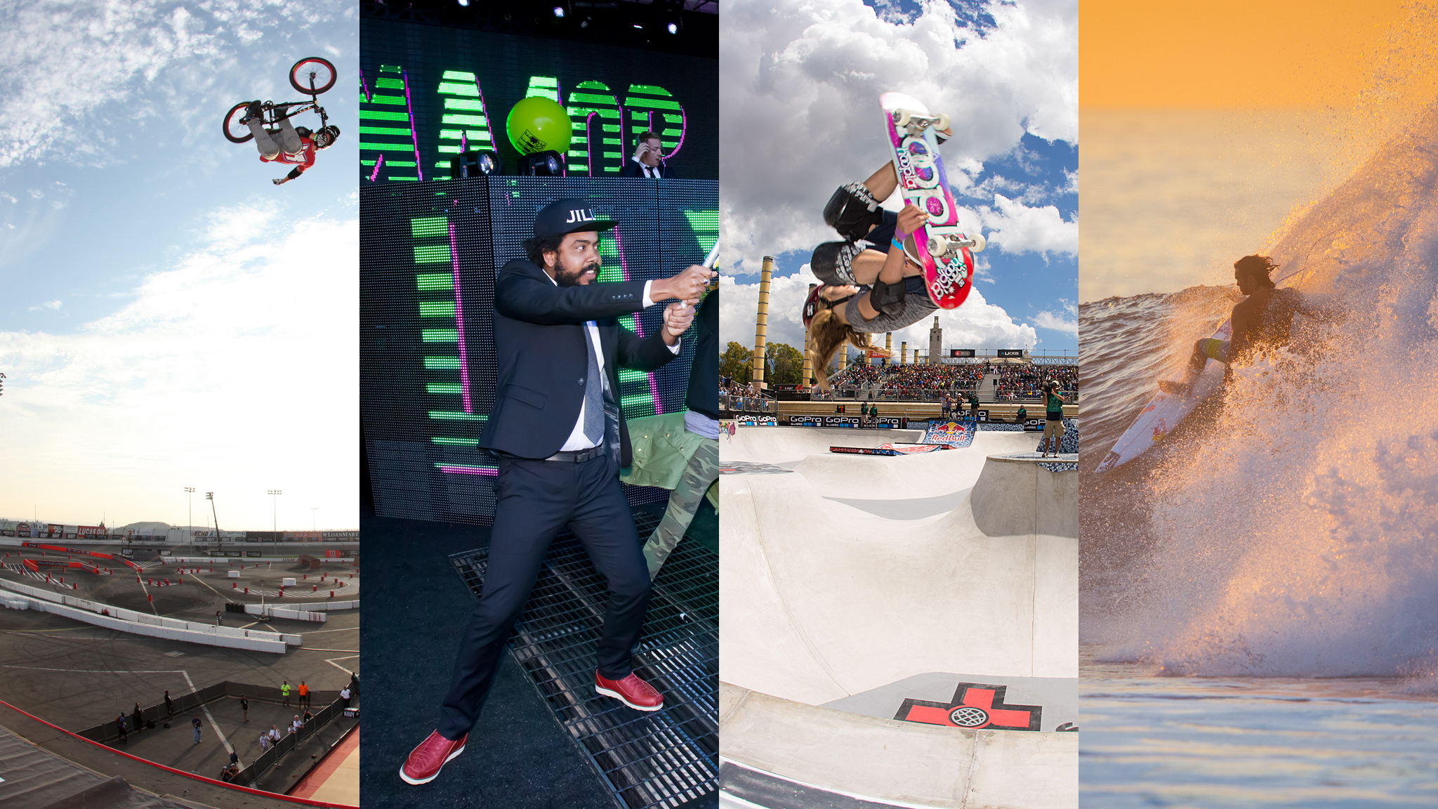 Seven months, six stops, five countries and a whole lot of new hardware to clear customs: 2013 was a whirlwind of a year for the X Games. Many athletes competed in their first event, and many won their first medal. But that's the thing about X Games: New stars are born and new records are set every day. Here's a look back at 20 of the most memorable global X Games firsts from 2013.