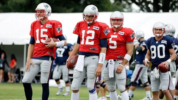 New England Patriots quarterbacks