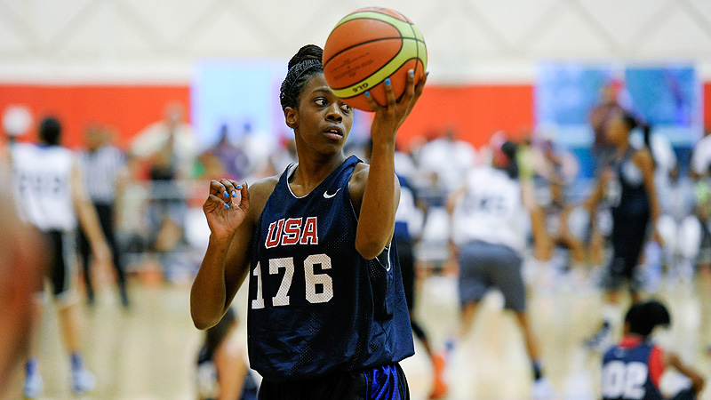 De'Janae Boykin, the most recent Connecticut recruit, has put up big numbers for both C.H. Flowers and USA Basketball.
