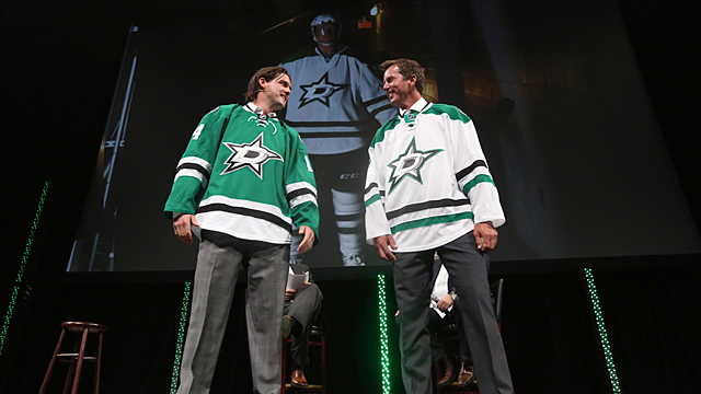 Former Dallas Stars Mike Modano