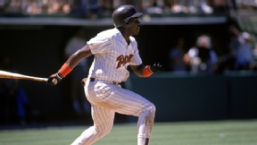 Tony Gwynn #19 of the San Diego Padres