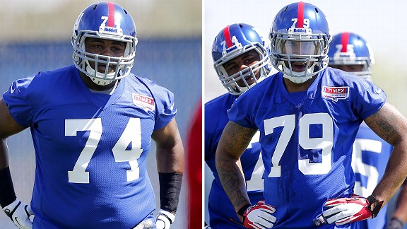 Johnathan Hankins and Damontre Moore