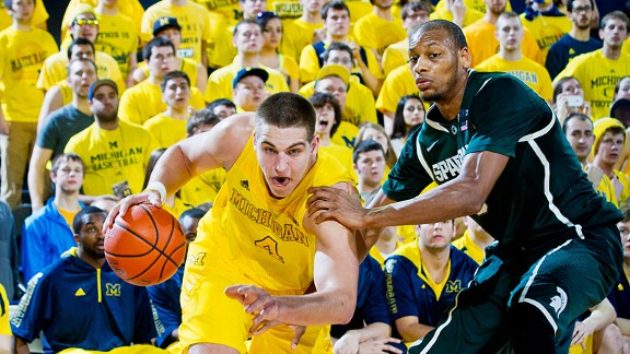 Mitch McGary and Adreian Payne