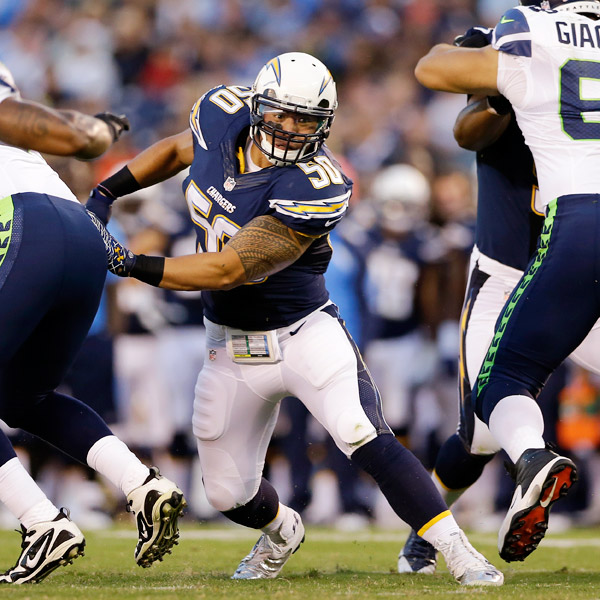 San Diego Chargers Game Stats: Manti Te'o Of San Diego Chargers Has Foot Sprain, Out For Week