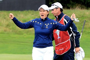 Europes oldest player, Catriona Matthew, could provide some leadership. At 44, shes playing the best golf of her career.