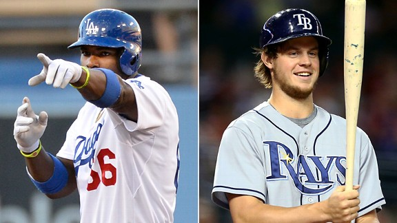 Yasiel Puig and Wil Myers