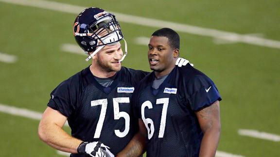Kyle Long and Jordan Mills