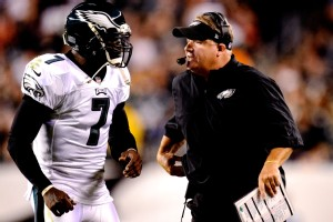 Philadelphia's Michael Vick and Chip Kelly