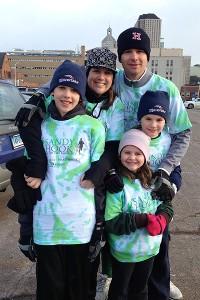 Keenan, Deirdre, Matt, Shea and Moira Keenan