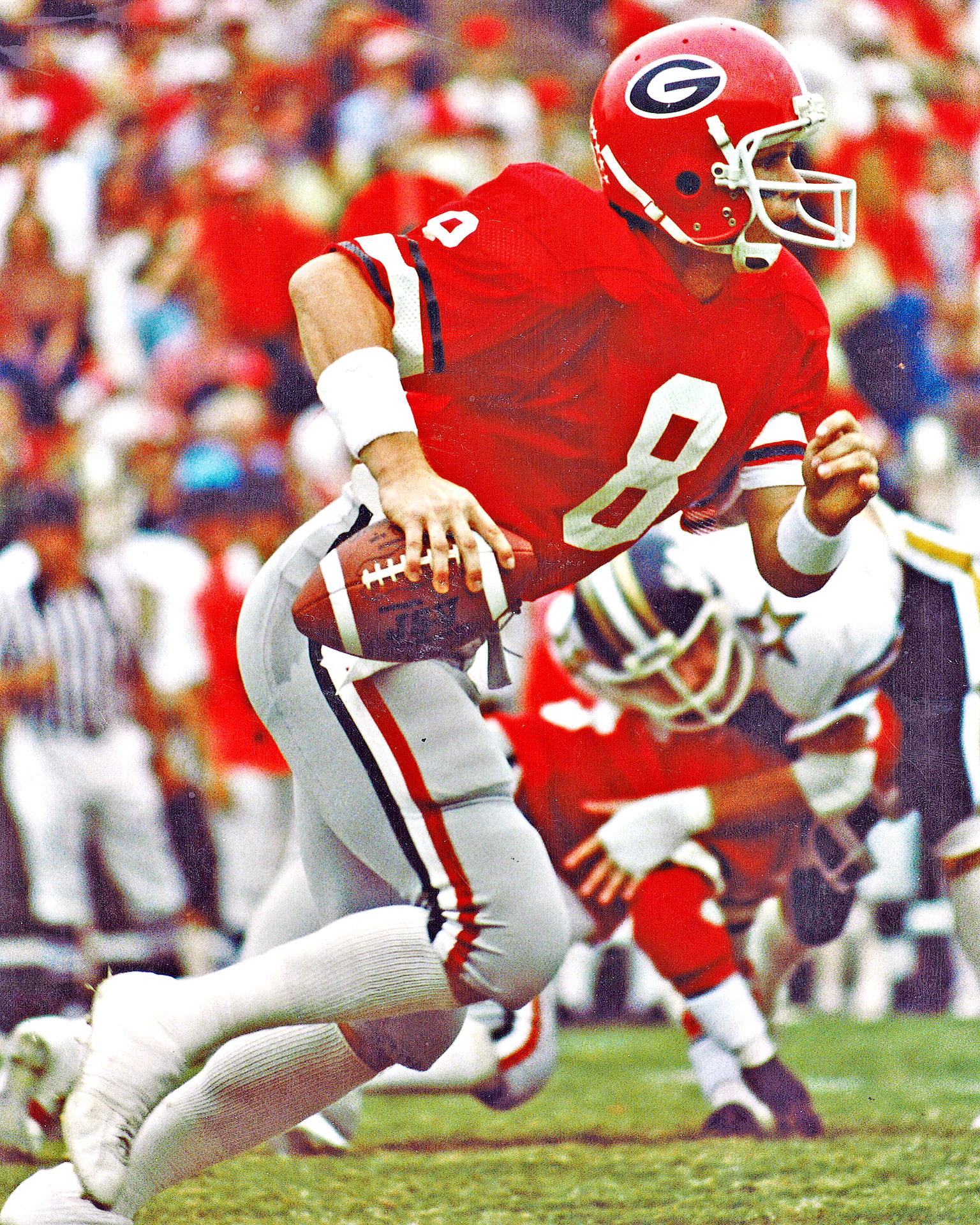 1980 Georgia home red - Georgia uniforms through the years ...