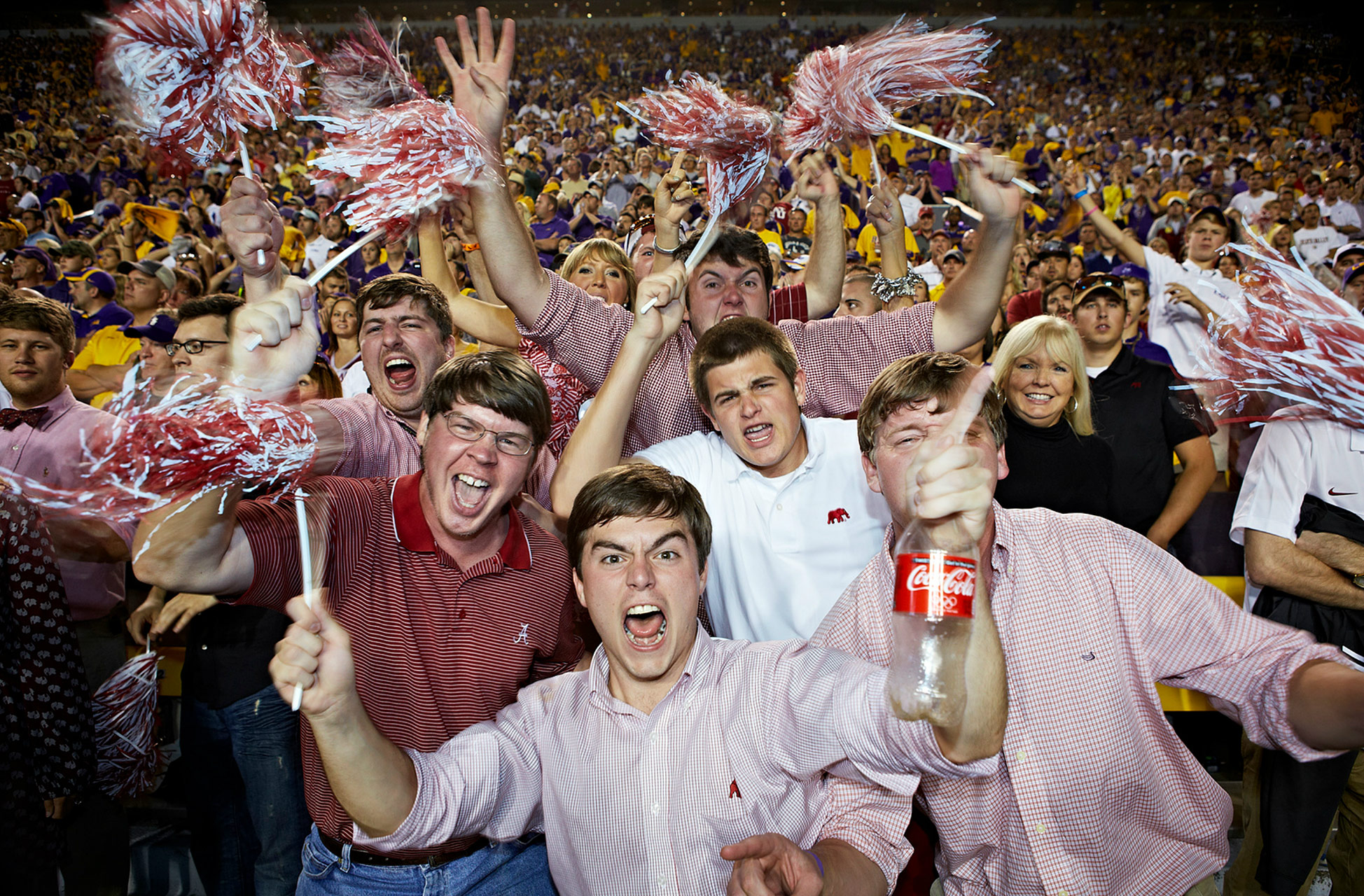 Alabama Student Section